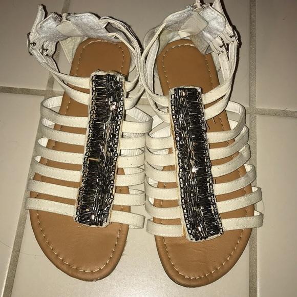 Shoes - Embellished Sandals